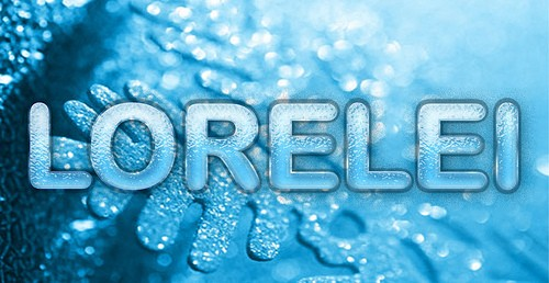 Design Beautifully Frosty Text Effect